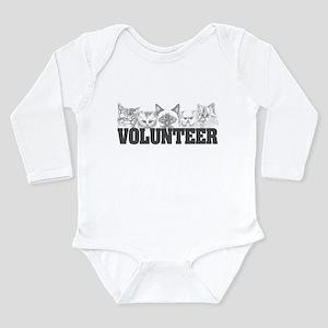 Volunteer (cats) Long Sleeve Infant Bodysuit