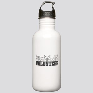 Volunteer (cats) Stainless Water Bottle 1.0L