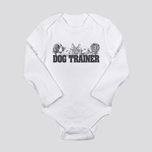 Dog Trainer Long Sleeve Infant Bodysuit