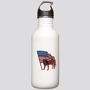 Patriotic Pup Stainless Water Bottle 1.0L