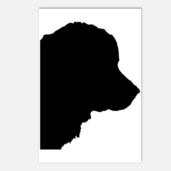 Newf Silhouette Postcards (Package of 8)