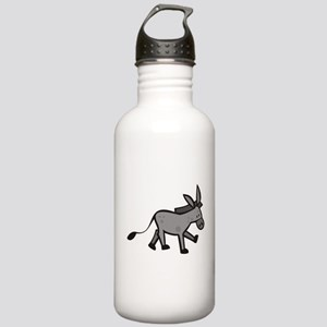 Cute Donkey Stainless Water Bottle 1.0L