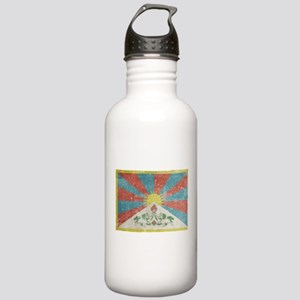 Vintage Tibet Flag Stainless Water Bottle 1.0L