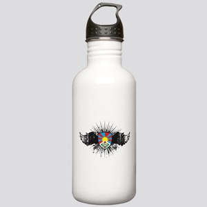 Tibet Emblem Stainless Water Bottle 1.0L