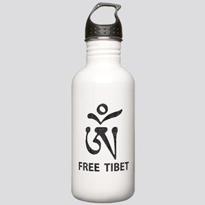 Tibetan Om Symbol Stainless Water Bottle 1.0L