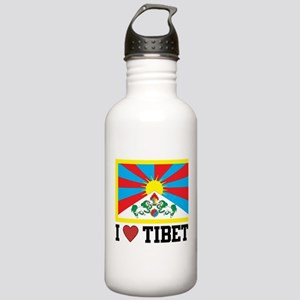 I Love Tibet Stainless Water Bottle 1.0L