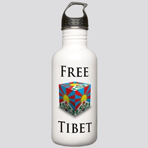 Free Tibet Cube Stainless Water Bottle 1.0L