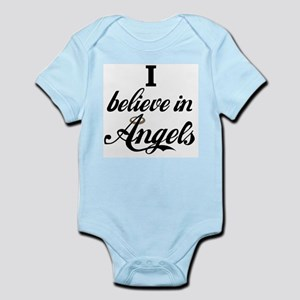 I BELEIVE IN ANGELS Infant Creeper