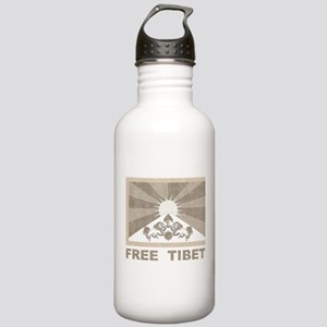 Vintage Free Tibet Stainless Water Bottle 1.0L