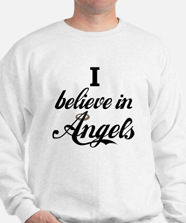 I BELEIVE IN ANGELS Sweatshirt