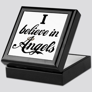 I BELEIVE IN ANGELS Keepsake Box