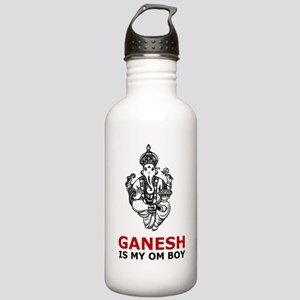 Hinduism Ganesh Is My Om Boy Stainless Water Bottl