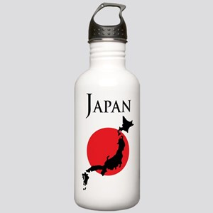 Map Of Japan Stainless Water Bottle 1.0L