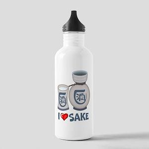 I Love Sake Stainless Water Bottle 1.0L