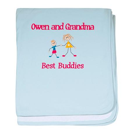 Owen & Grandma - Buddies baby blanket