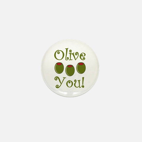 Ollive You Mini Button