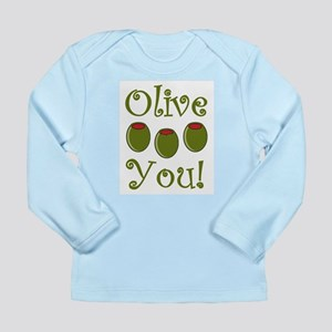Ollive You Long Sleeve Infant T-Shirt
