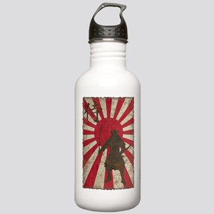 Vintage Samurai Stainless Water Bottle 1.0L