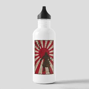 Vintage Samurai Stainless Water Bottle 1.0L