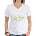I Believe in Ghost Stories Women's V-Neck T-Shirt