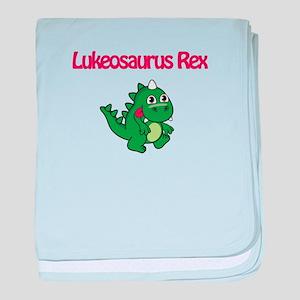 Lukeosaurus Rex baby blanket