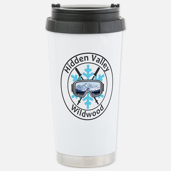 Hidden Valley Ski Travel Mug