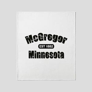 McGregor Established 1882 Throw Blanket