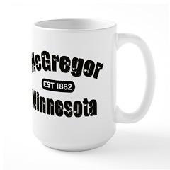 McGregor Established 1882 Large Mug