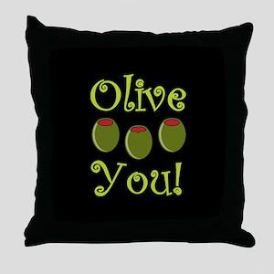 Ollive You Throw Pillow