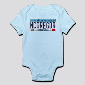 McGregor License Plate Infant Bodysuit