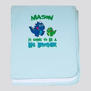 Mason - Big Brother To Be baby blanket