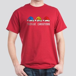 Trekkie Christmas Dark T-Shirt