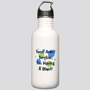 Twos Aren't Terrible Stainless Water Bottle 1.0L