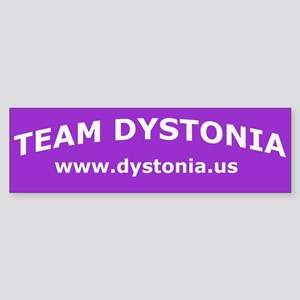 TeamDystonia Bumper Sticker