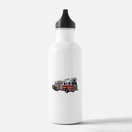 Firetruck Design Water Bottle