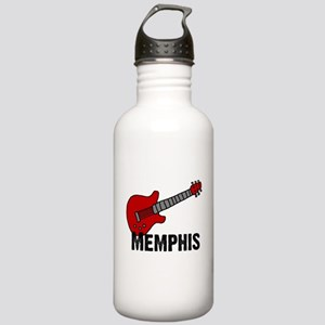 Guitar - Memphis Stainless Water Bottle 1.0L