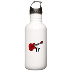 Guitar - Ty Water Bottle