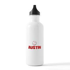 Baseball - Austin Water Bottle