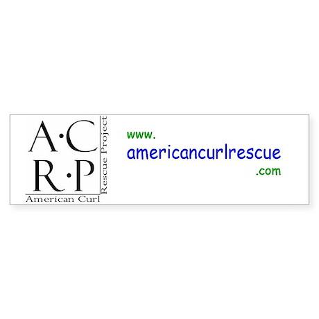 ACRP Bumper Sticker