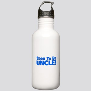 Soon To Be Uncle! Blue Stainless Water Bottle 1.0L