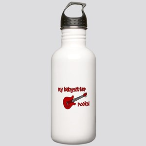 My Babysitter Rocks! Stainless Water Bottle 1.0L
