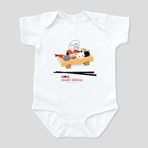 sushi kitten Infant Bodysuit
