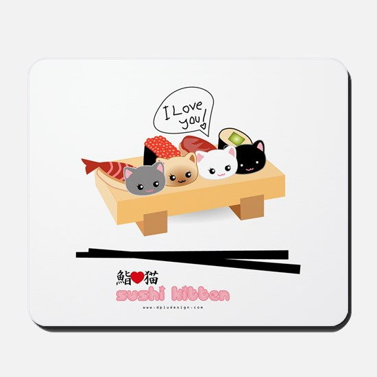 sushi kitten Mousepad