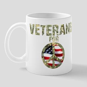 Veterans For Peace Sign Mug