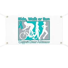 Ovarian Cancer RideWalkRun Banner