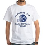 Blue Mountain State Drinking Team White T-Shirt