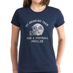 Blue Mountain State Drinking Team Women's Dark T-S