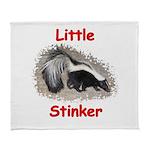 littlestinker11x11_pillow Arctic Fleece Throw Blan