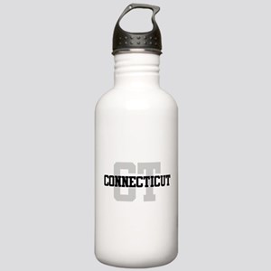 CT Connecticut Stainless Water Bottle 1.0L