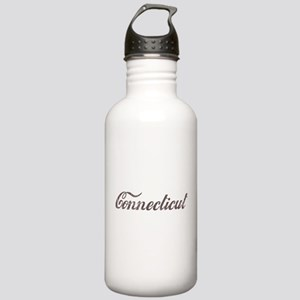 Vintage Connecticut Stainless Water Bottle 1.0L